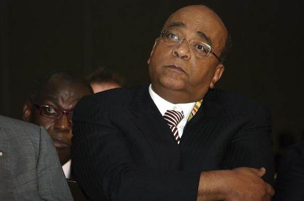 In this 2009 file photo, Sudanese-born telecommunications entrepreneur Mo Ibrahim listens during a conference promoting good governance in Africa, in Tanzania's capital Dar es Salaam REUTERS/Katrina Manson