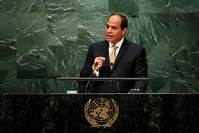 Egypt's Sisi promises justice after migrant ship capsize