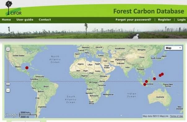 "An online mapping tool can be used to develop emission factors and activity data to help countries do their own inventories with better estimates,"" says Daniel Murdiyarso, a principal scientist at the Center for International Forestry Research. CIFOR/graphic"