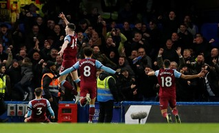 Police investigating alleged homophobic chanting by West Ham fans