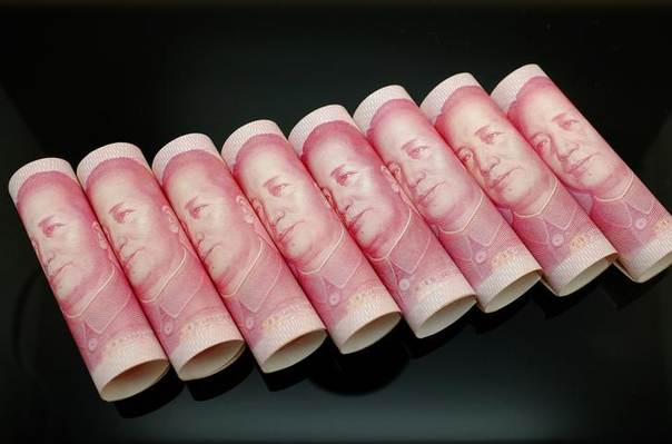 100 Yuan notes are seen in this illustration picture in Beijing November 5, 2013 REUTERS/Jason Lee