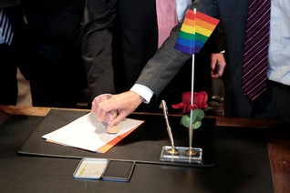 Homophobia seen rising in European countries without gay marriage
