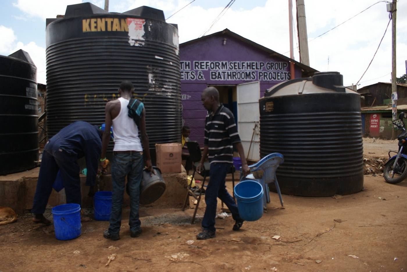 FEATURE-Drought-hit Nairobi looks to filthy dam to keep business flowing