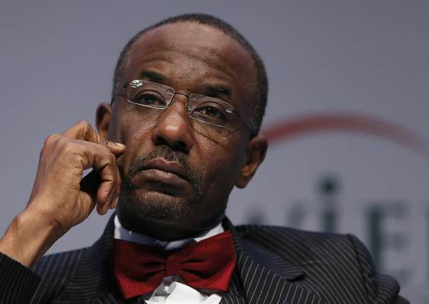 Nigeria's Central Bank Governor Sanusi Lamido Sanusi attends the World Islamic Economic Forum in London October 30, 2013. REUTERS/Stefan Wermuth