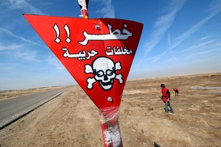 In Iraq minefields, an old war leaves a menacing legacy