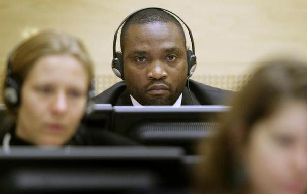 Congolese warlords Germain Katanga sits in the courtroom of the International Criminal Court in The Hague November 24, 2009.  REUTERS/Michael Kooren