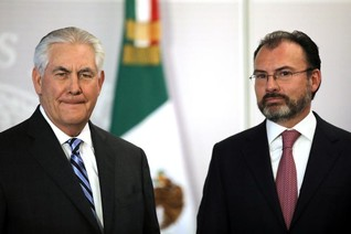 Mexico warns of tariffs, spurns U.S. aid under review by Trump