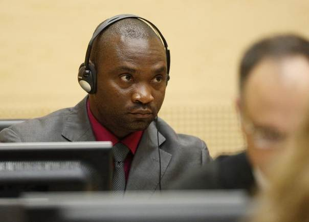 In this 2012 file photo, Germain Katanga, a Congolese national, sits in the courtroom of the ICC during the closing statements in the trial against Katanga and Ngudjolo Chui in The Hague REUTERS/Michael Kooren