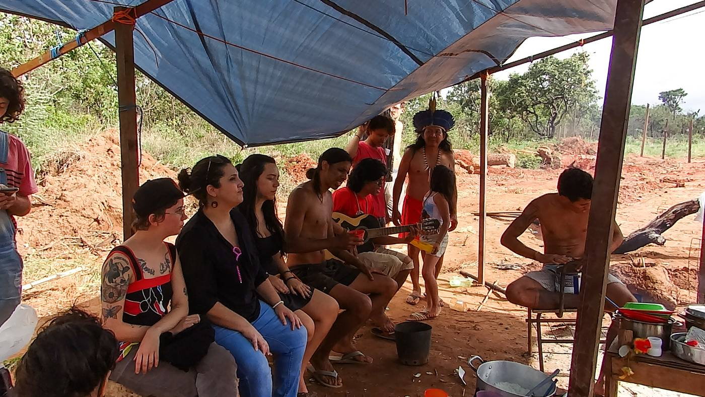Land fight simmers over Brasilia's Shrine of Shamans