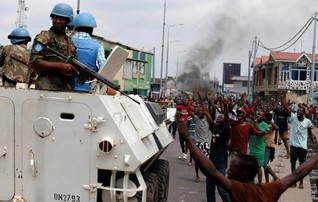 Congo forces fire shots to ward off protests after talks fizzle