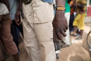 OFFICIAL CORRECTION-Militias renew attacks in Central African town, kill peacekeeper