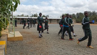 Kenyan schools learn ABC of court to preserve playgrounds