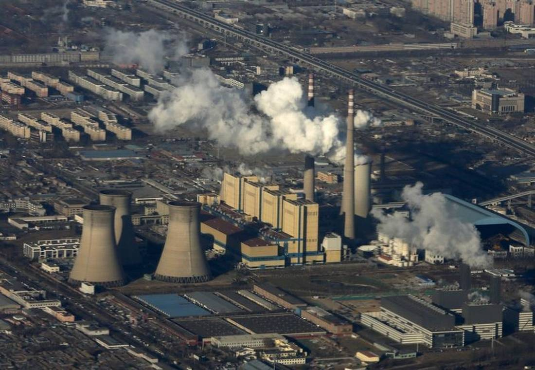 False emissions reporting undermines china 39 s pollution fight for Pollution fighting plants