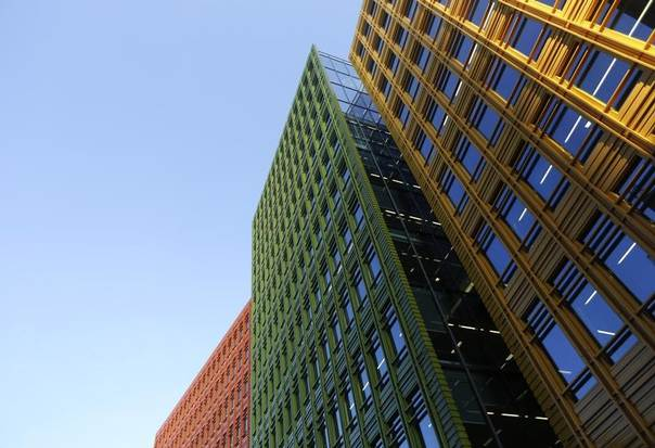 An office block at the Central St Giles development in London, April 23, 2013. REUTERS/Luke Macgregor