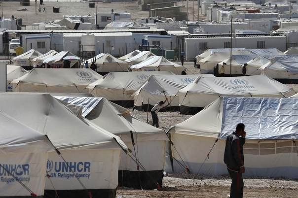 A view of Al Zaatri refugee camp in the Jordanian city of Mafraq, near the border with Syria, May 4, 2014. REUTERS/Muhammad Hamed