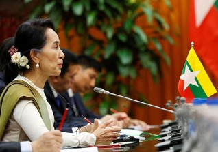 """""""Hate narratives"""" from abroad drive Myanmar communities apart, Suu Kyi says"""