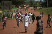 Muslims march in C.African Republic capital, call for evacuation