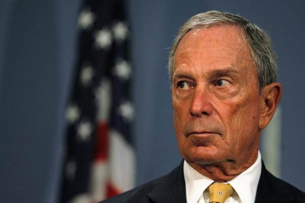 Then New York City Mayor Michael Bloomberg speaks during a news conference at City Hall in New York, September 18, 2013. REUTERS/Brendan McDermid