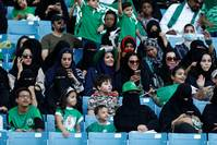 National celebrations open Saudi stadium to women for first time