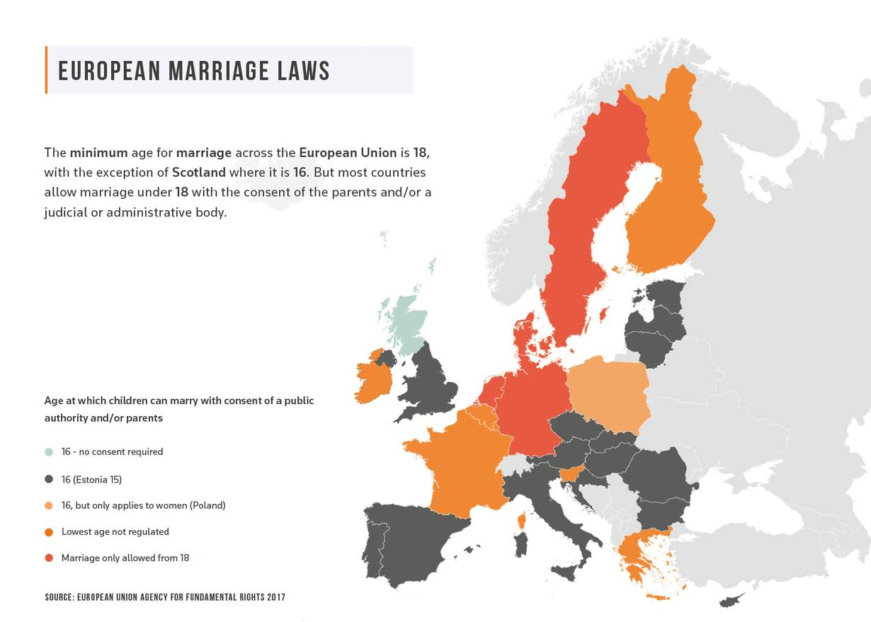 Child Marriage Survivors Say UK Law Legitimises 'Terrible' Abuse on map of europe, map of oceans, map of canada, map of united kingdom, map of hemispheres, map of world, map of africa, map of continents, map of germany, map of philippines, map of romania, map of states, map of greece, map of bangladesh, map of mexico, map of brazil, map of asia, map of country, map of italy,