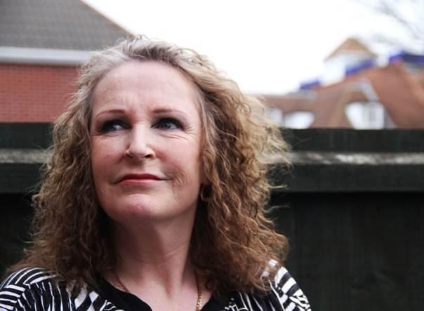 British former sex worker Helena Evans