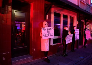 Hamburg sex workers demand Germany's brothels reopen