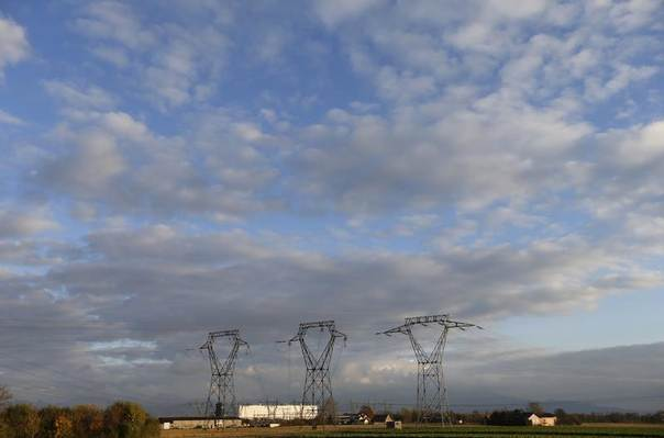 France's oldest Electricite de France (EDF) nuclear power station, outside the eastern French village of Fessenheim, near Colmar, Nov. 14, 2013 . REUTERS/Vincent Kessler