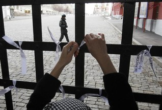 Facing jail for online 'jokes', Russian feminist vows to fight on
