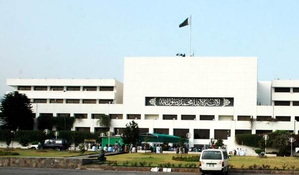 A view of Parliament House in Islamabad, Pakistan's capital. TRF/Aamir Saeed