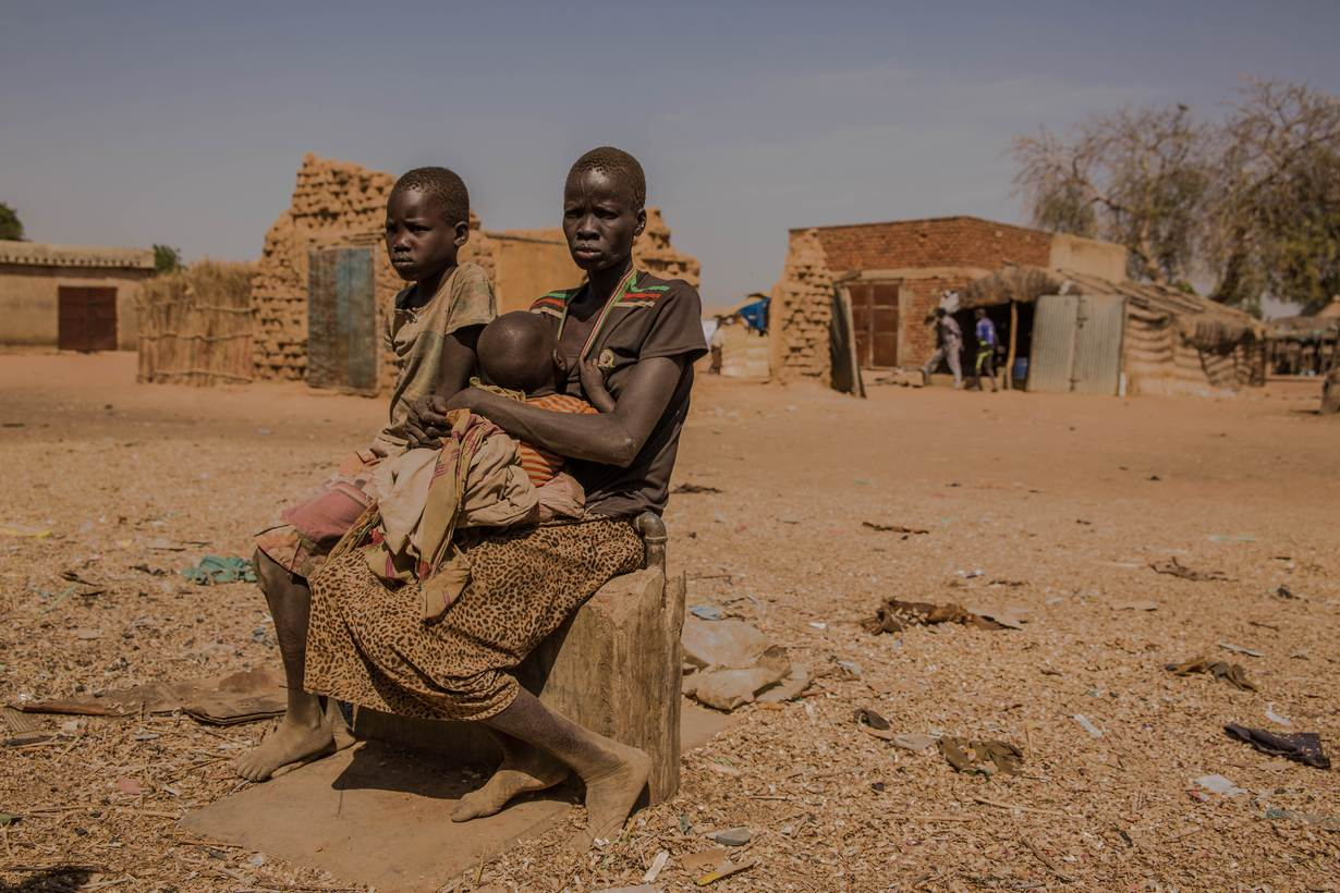 In South Sudan Civil War Drives More Children Onto The