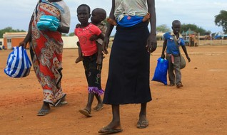 Uganda struggles to cope as 1 mln South Sudanese refugees pour in