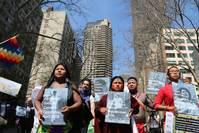 Indigenous leaders seek forest protection role in climate fight