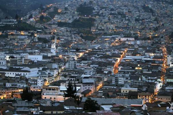 A view shows the historic center at downtown Quito, April 12, 2012. REUTERS/Guillermo Granja/Files