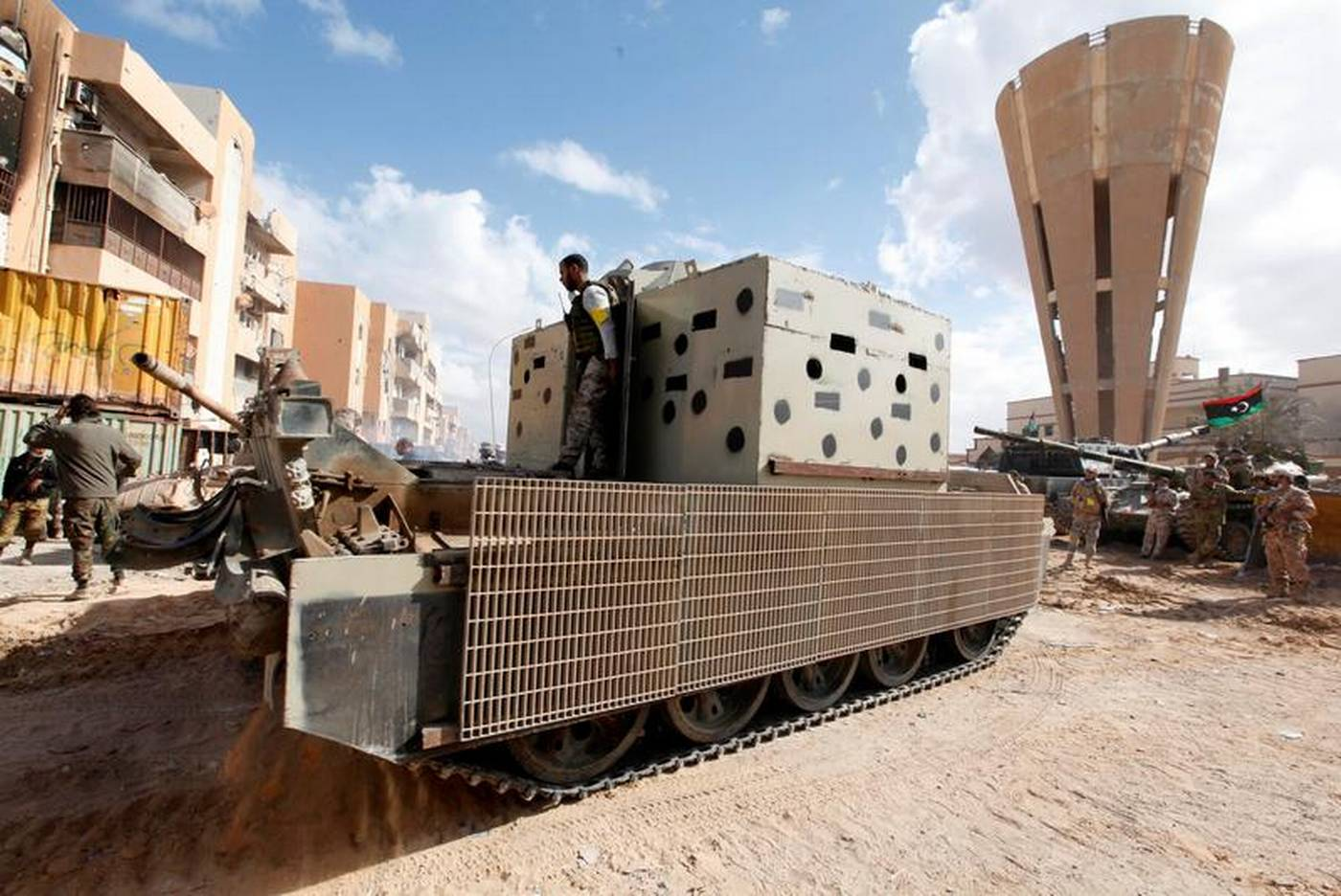 Say No To Slavery In Libya >> Libyan forces close to securing last Islamic State holdouts ...