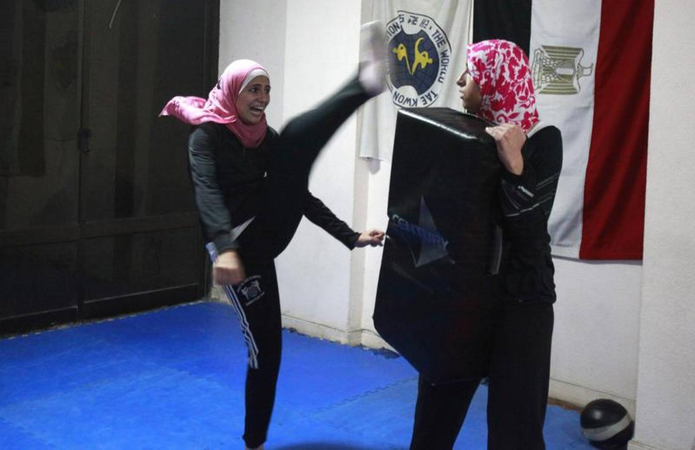Egyptian women use ancient Indonesian martial arts to fight abuse