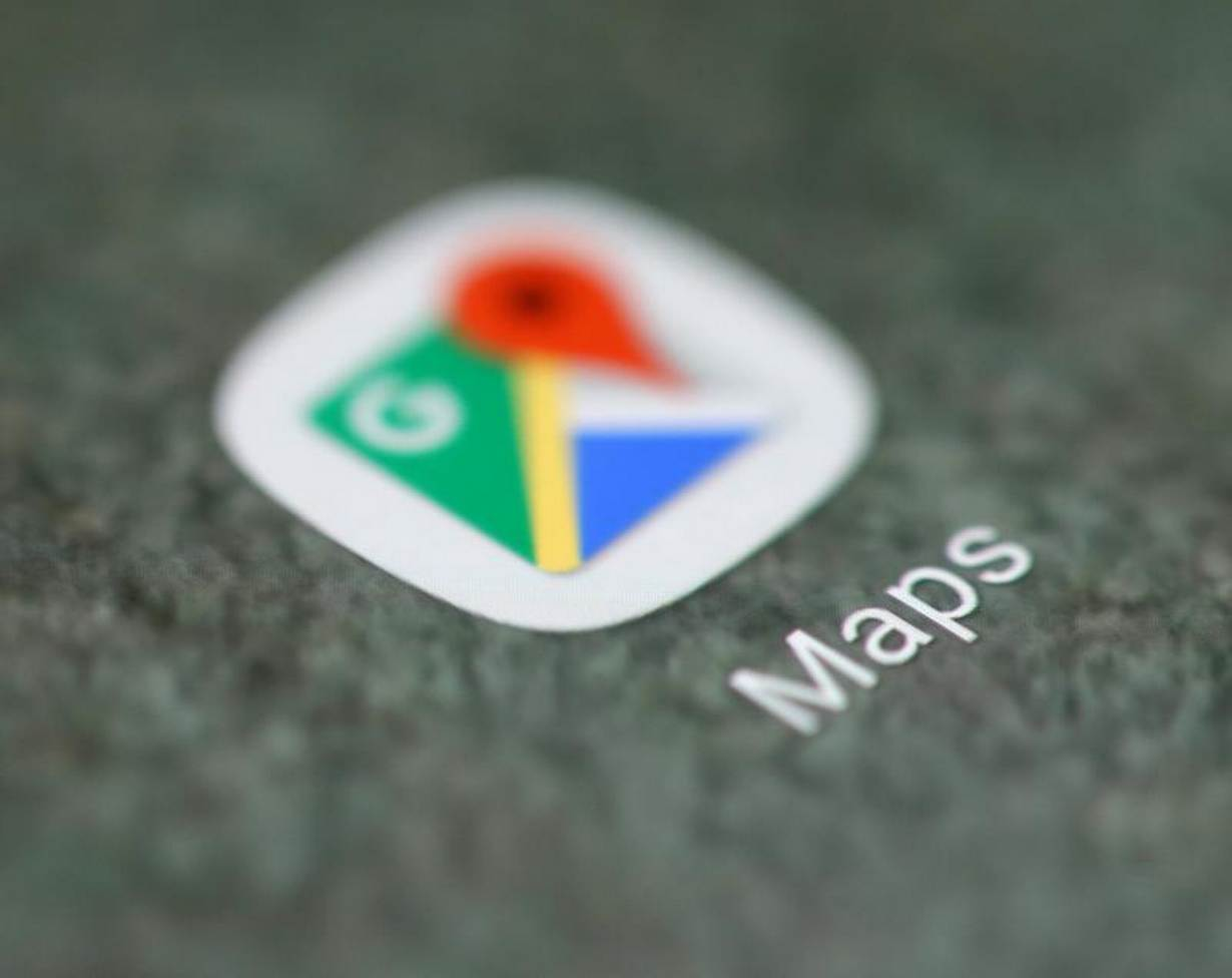 The Google Maps app logo is seen on a smartphone in this picture illustration taken September 15, 2017. REUTERS/Dado Ruvic/Illustration