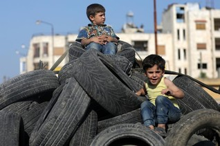 Family stayed in Syrian town during offensive as rebels ousted