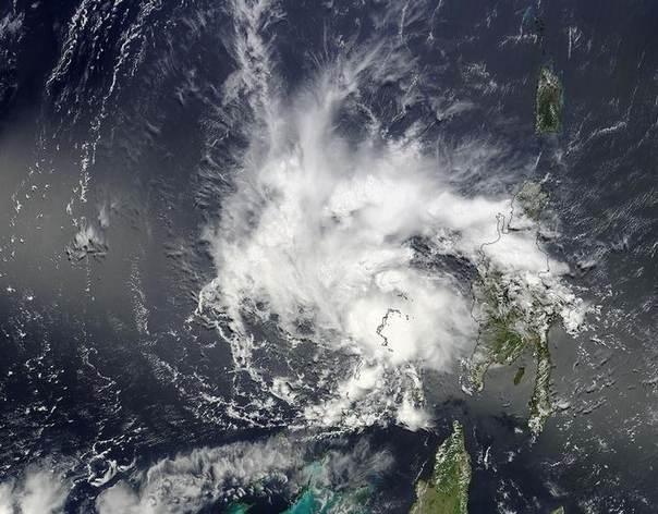 Tropical Storm Bertha passes over the Bahamas on August 3, 2014.REUTERS/NASA MODIS Rapid Response Team/Handout via Reuters