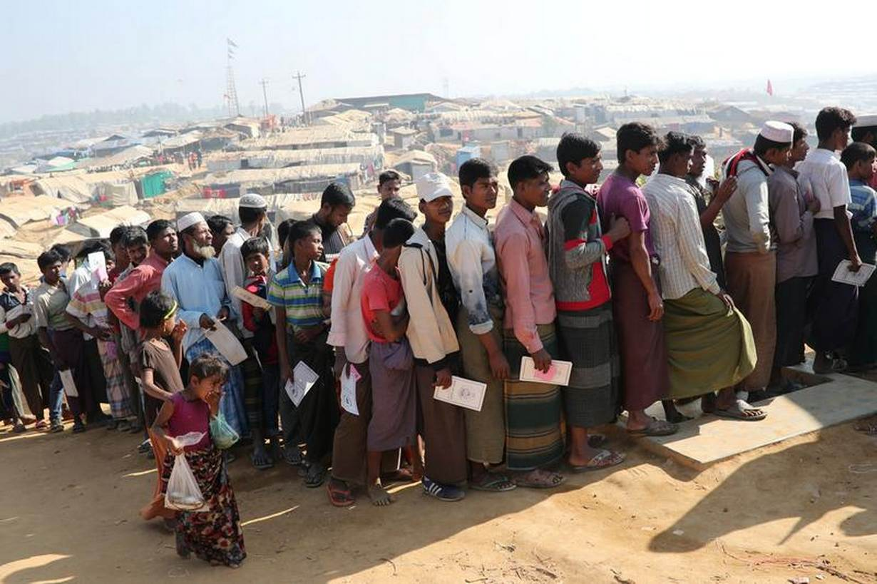 USA announces $18.4 m humanitarian aid for Rohingyas