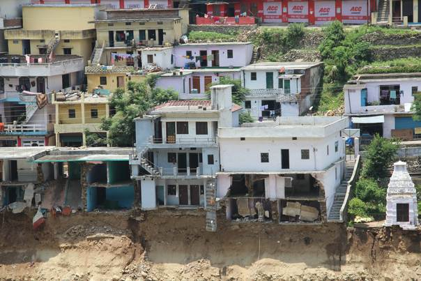 Countless lives, homes etc. washed away last year remain in disrepair (Devendra Tak/Save the Children)