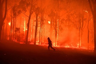 Record dry November in Australia fuels deadly fires