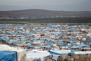 Turkish aid groups building houses in Syria for Idlib's displaced