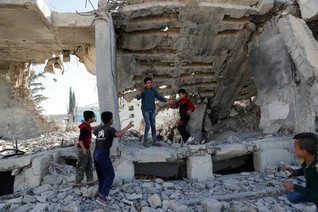 Syrian town struggles to cope alone after key victory over Islamic State