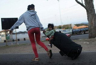 Battle of the bands: Dueling concerts as aid for Venezuelans in limbo