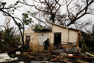 At least 25 dead after Hurricane Maria hits Caribbean