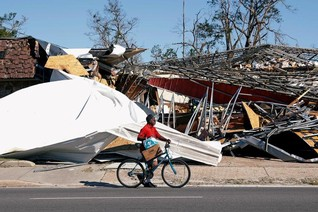 Hurricane strands many in Florida Panhandle's poor, rural backcountry