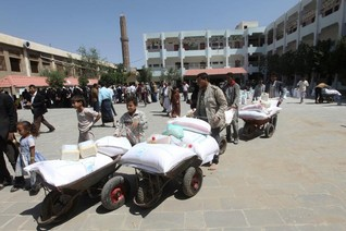WFP resumes food distribution in Yemen's Sanaa after deal with Houthis