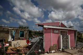 Hurricane-hit Caribbean states target future safe from climate harm