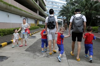 Gay parenting 'boot camp' moves to Asia to meet growing demand from China