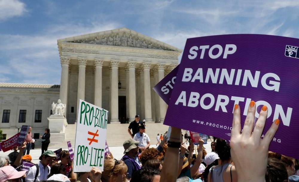 Abortion map shows U.S. bans in 'stark contrast' to global trend